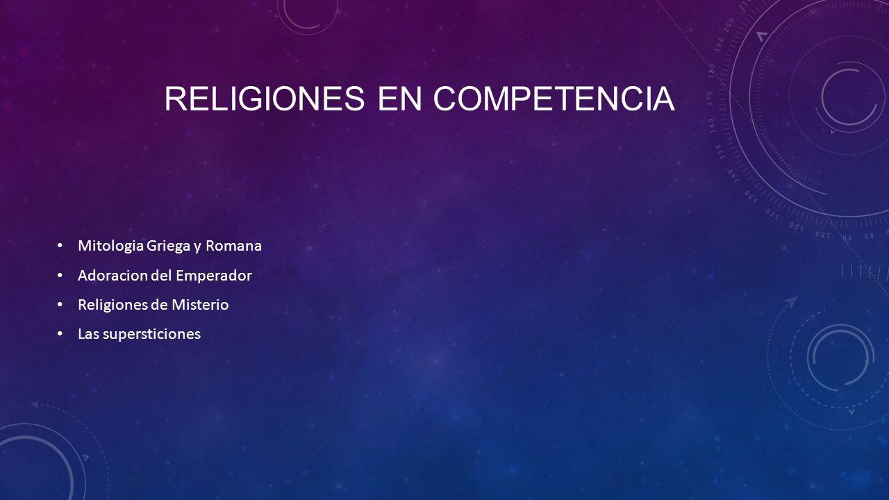 Religiones en competencia