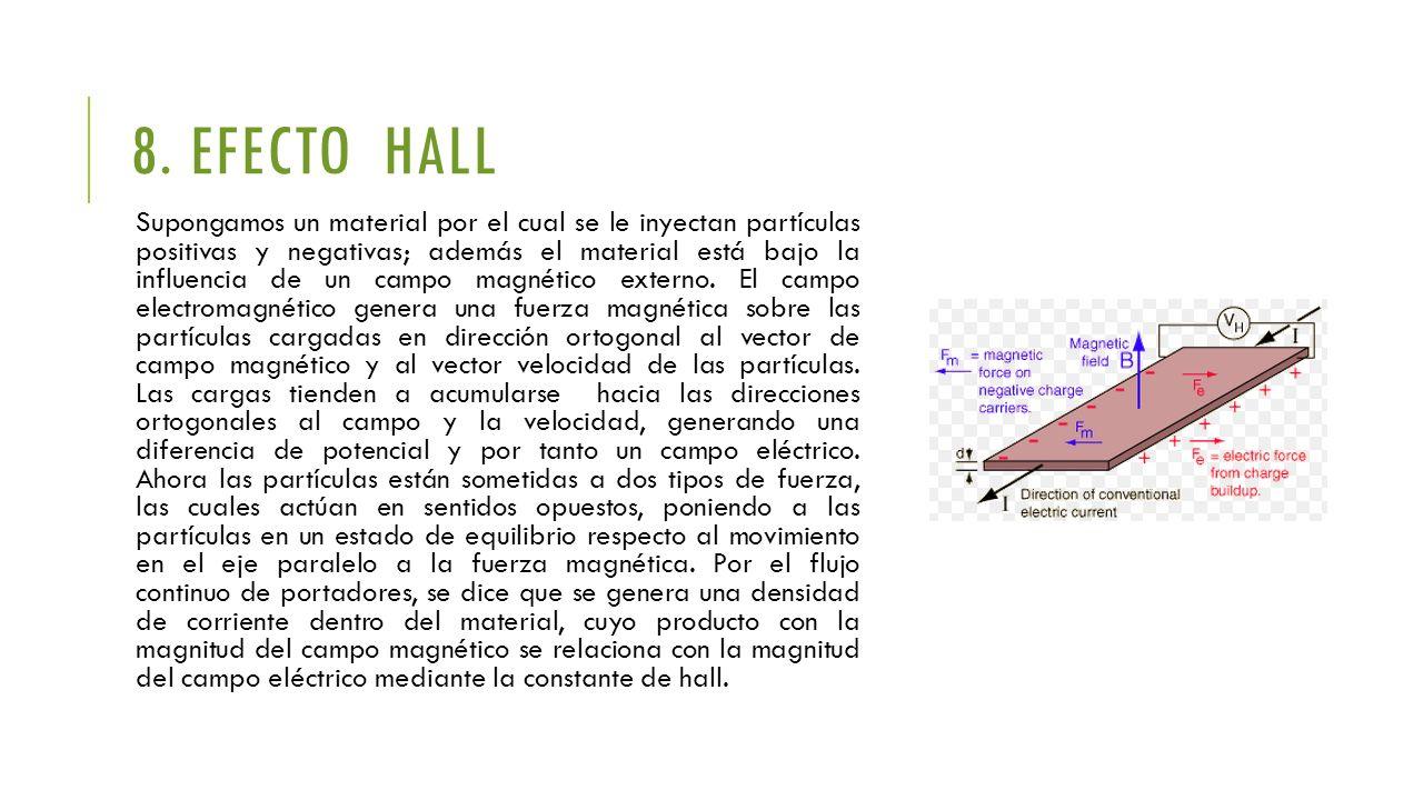 8. EFECTO HALL