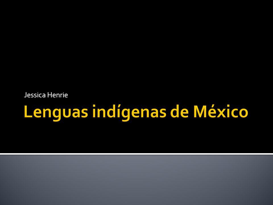 Lenguas indígenas de México