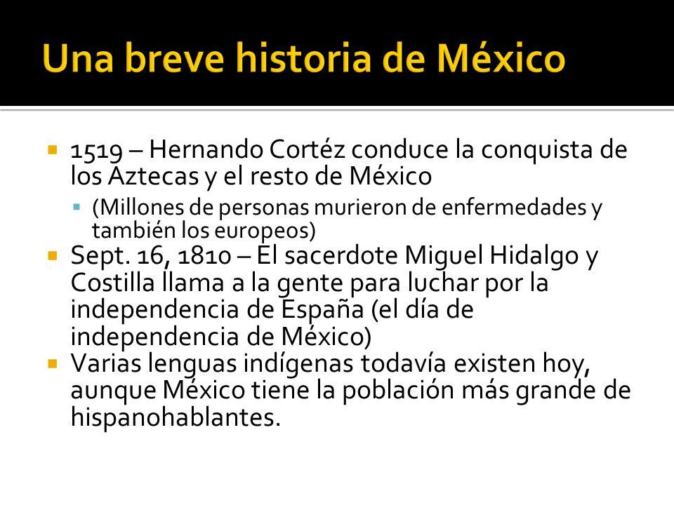 Una breve historia de México