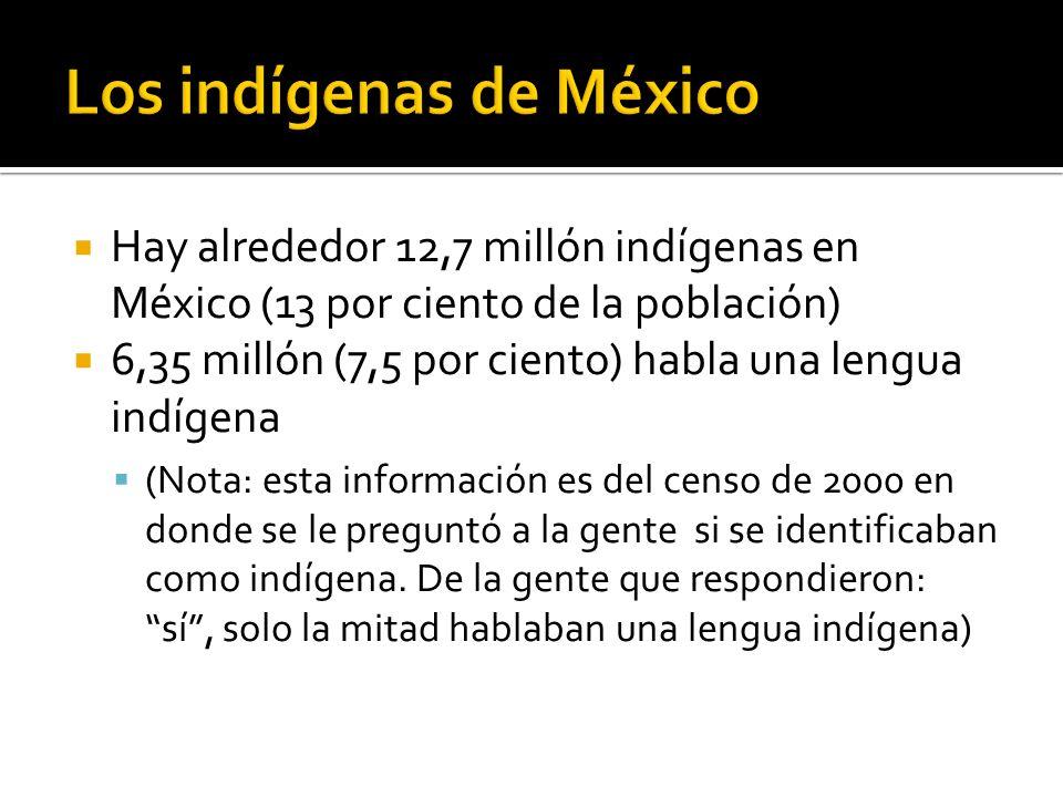 Los indígenas de México