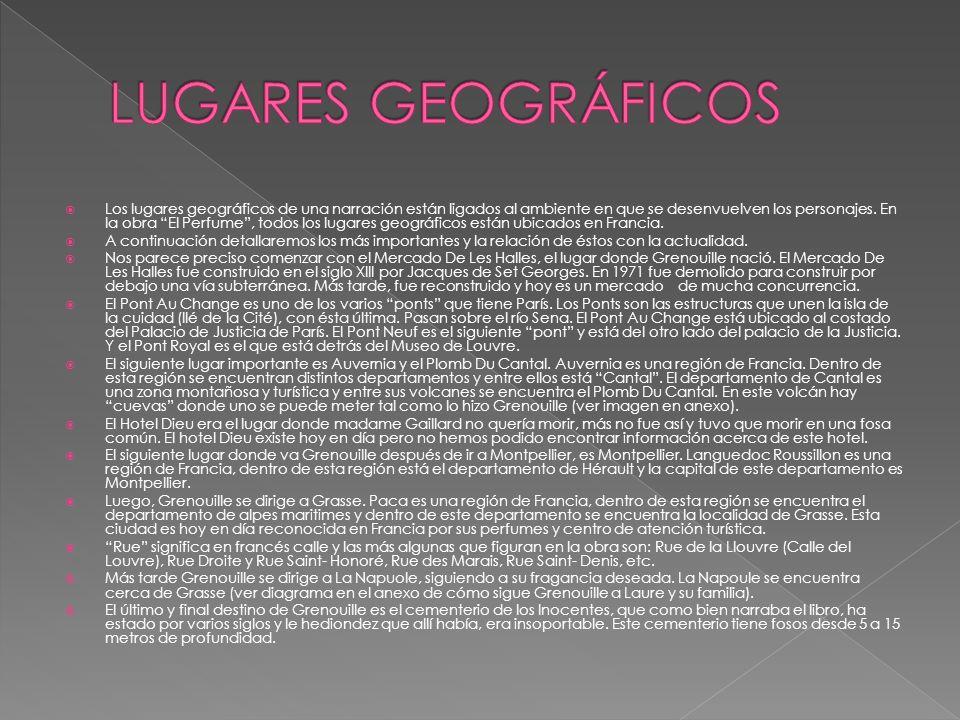 LUGARES GEOGRÁFICOS
