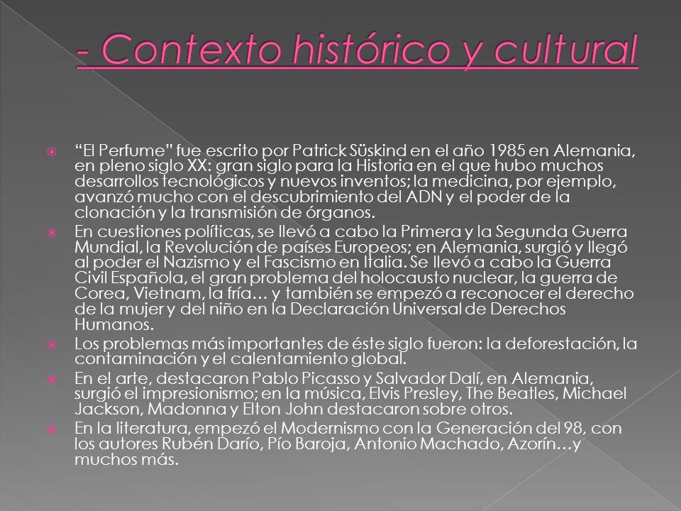 - Contexto histórico y cultural