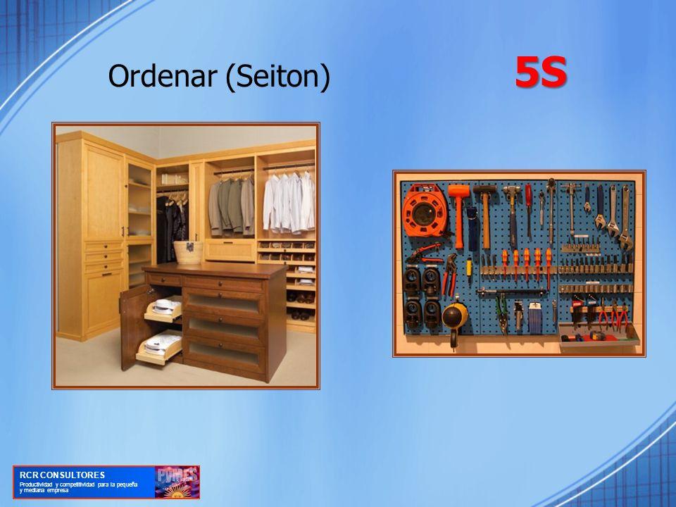 Ordenar (Seiton) 5S RCR CONSULTORES