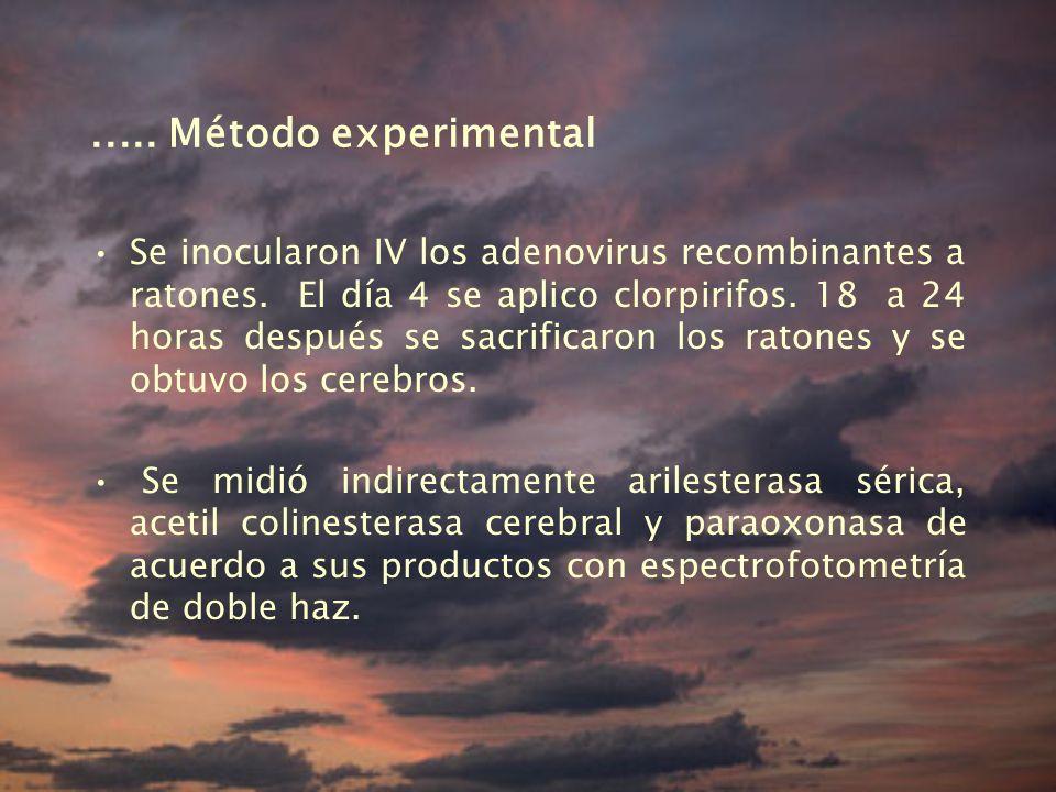 ..... Método experimental
