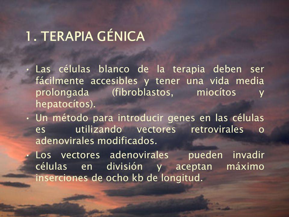 1. TERAPIA GÉNICA