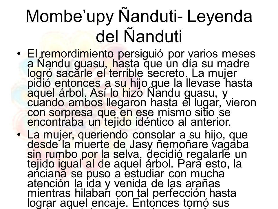 Mombe'upy Ñanduti- Leyenda del Ñanduti