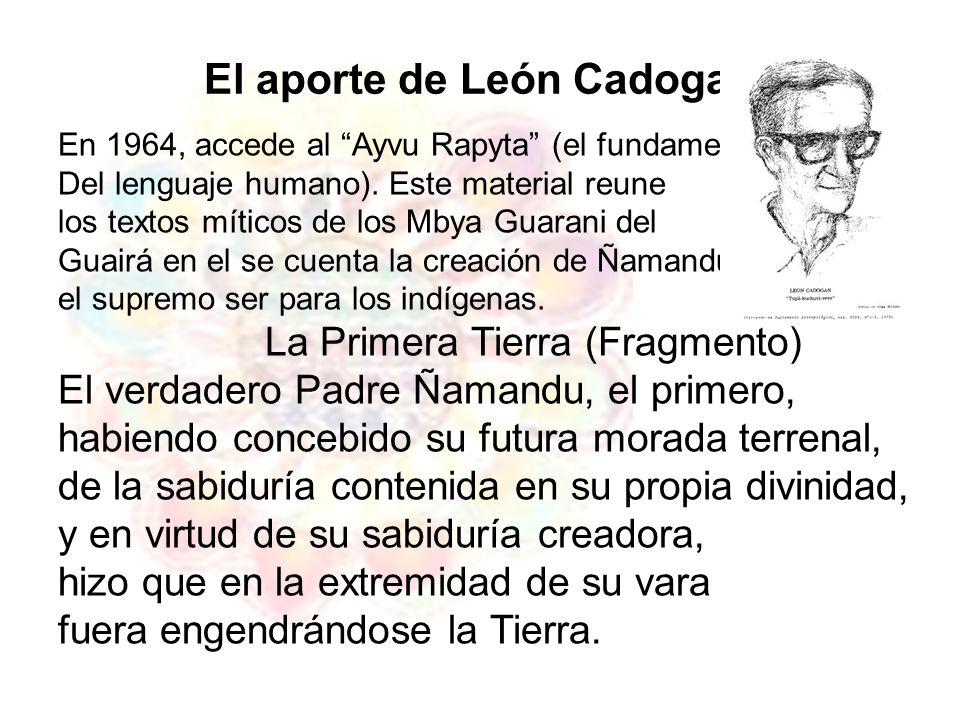 El aporte de León Cadogan