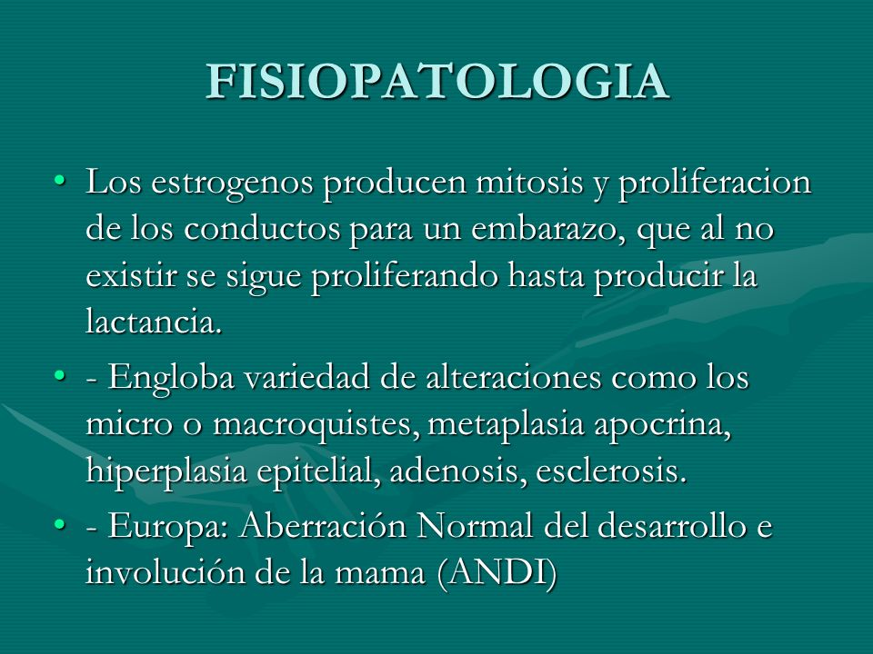 FISIOPATOLOGIA