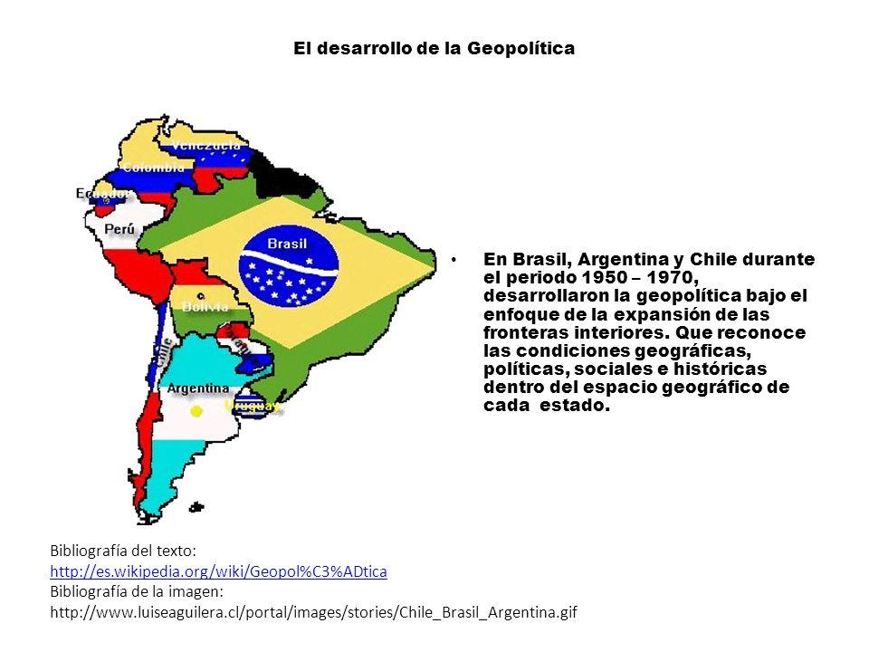 El desarrollo de la Geopolítica