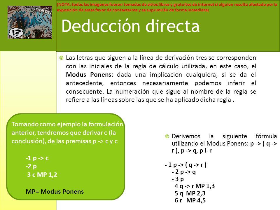 Deducción directa
