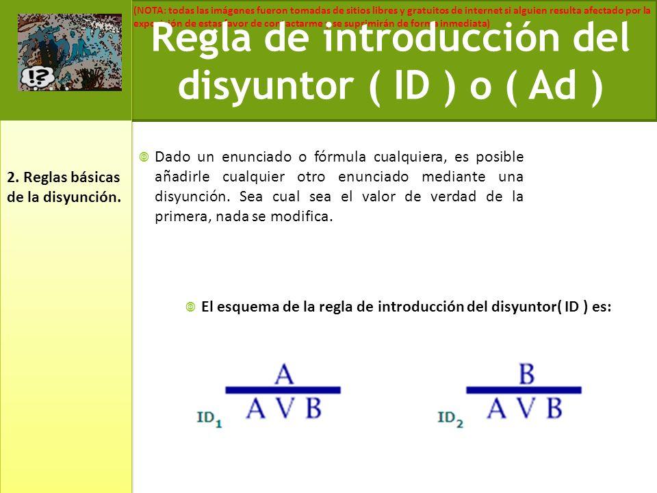 Regla de introducción del disyuntor ( ID ) o ( Ad )