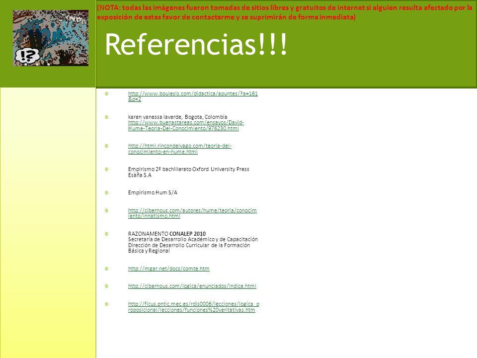 Referencias!!! http://www.boulesis.com/didactica/apuntes/ a=161 &p=2