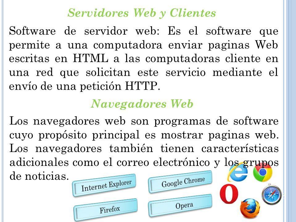 Servidores Web y Clientes