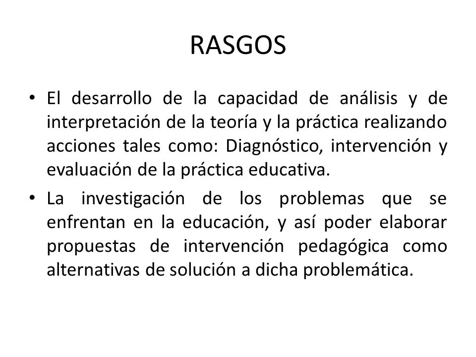 RASGOS