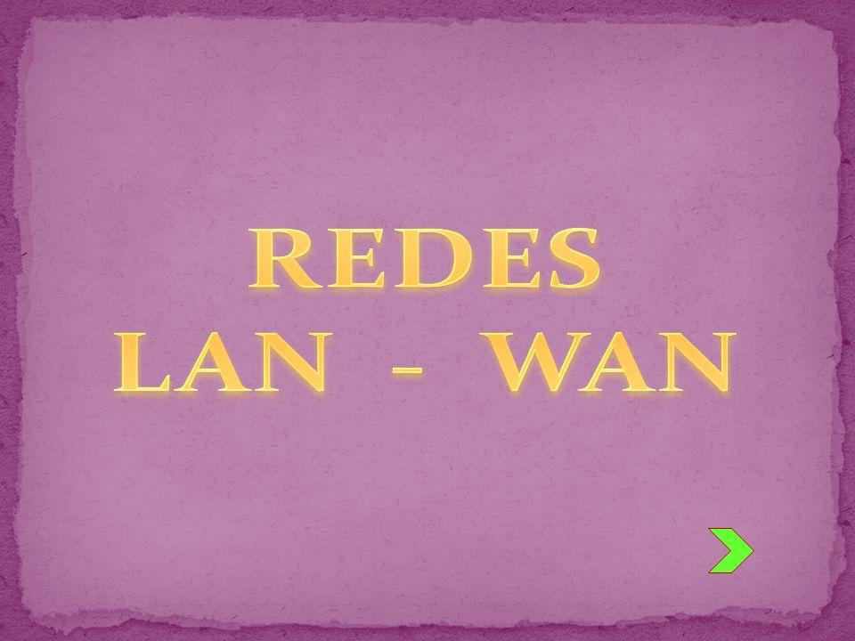 REDES LAN - WAN