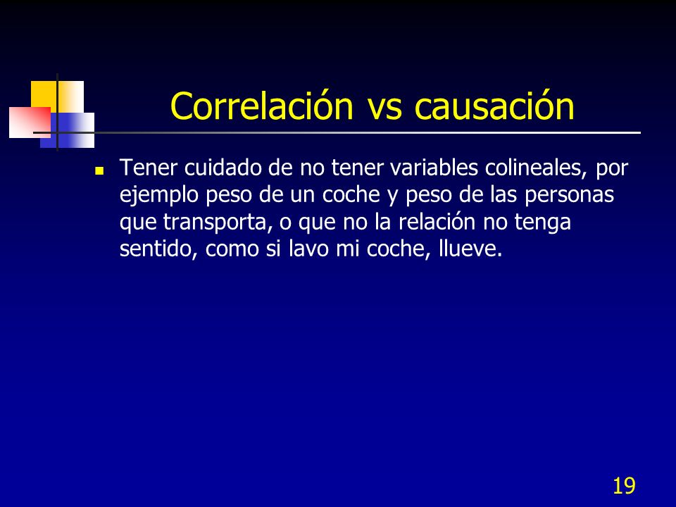 Correlación vs causación