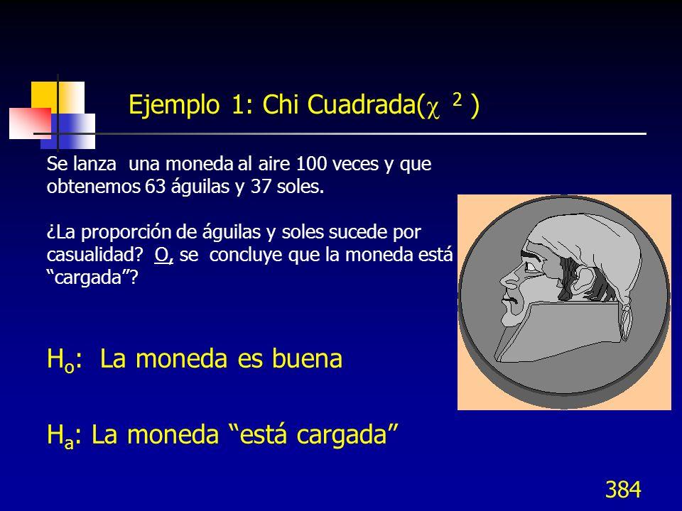 Ejemplo 1: Chi Cuadrada( 2 )