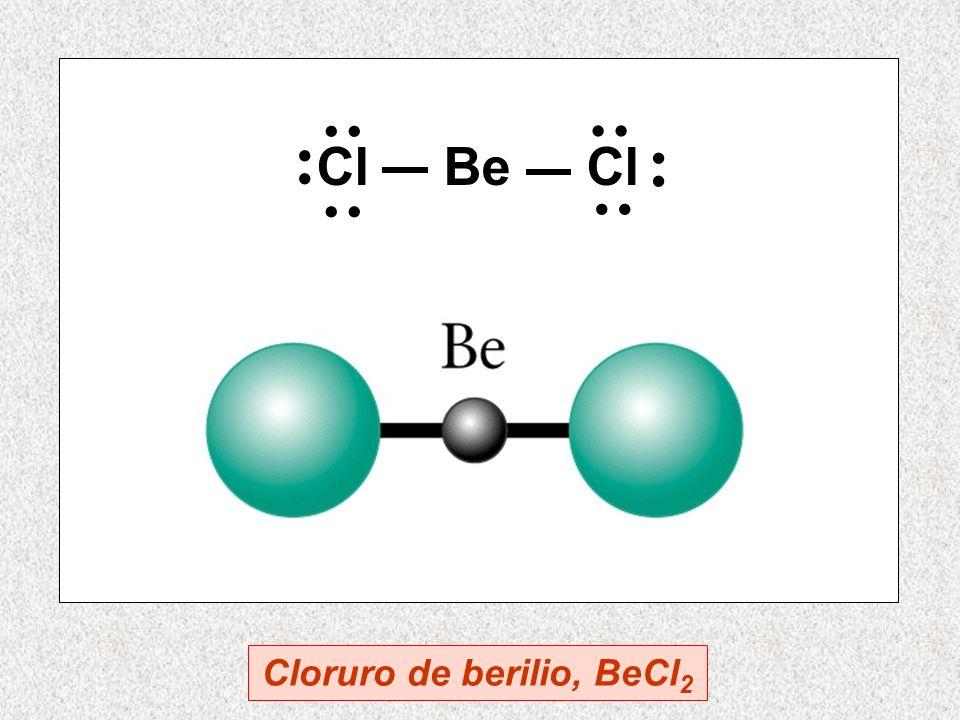 Cloruro de berilio, BeCl2