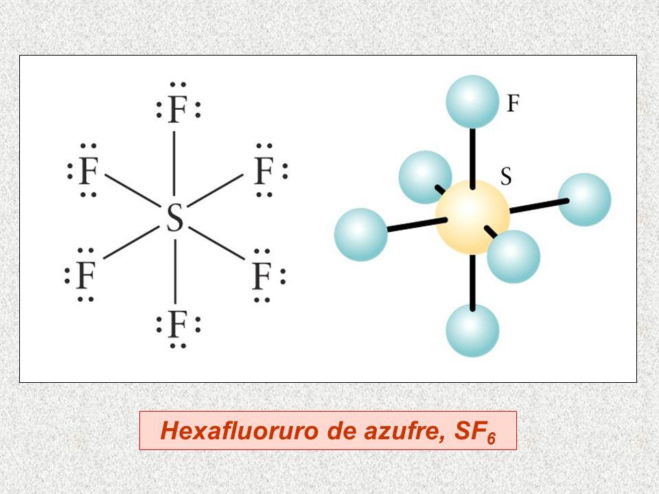Hexafluoruro de azufre, SF6