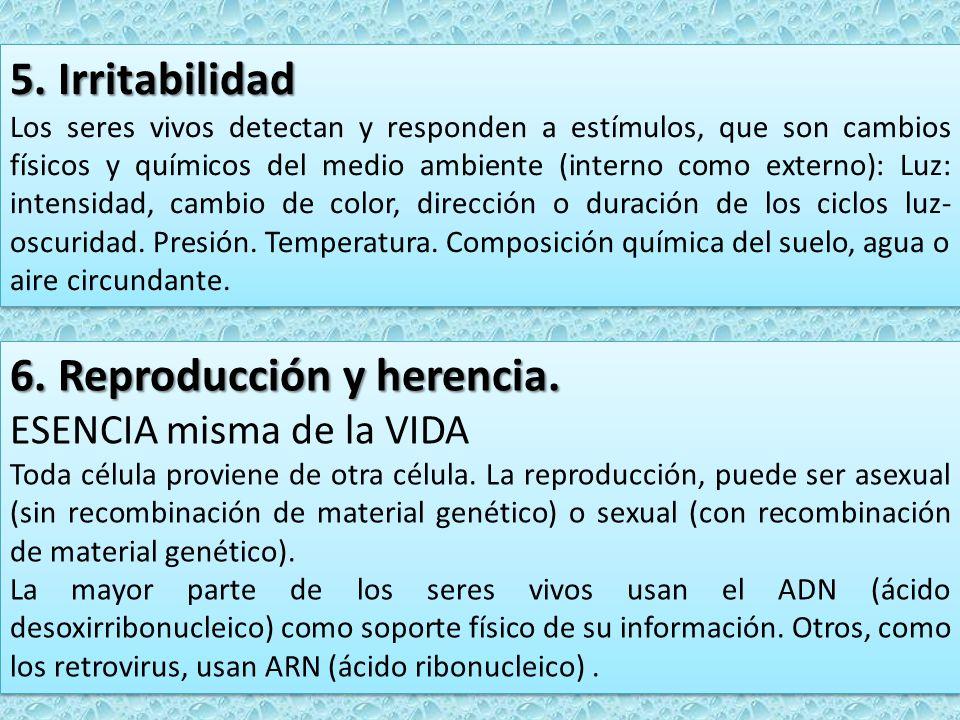 6. Reproducción y herencia.