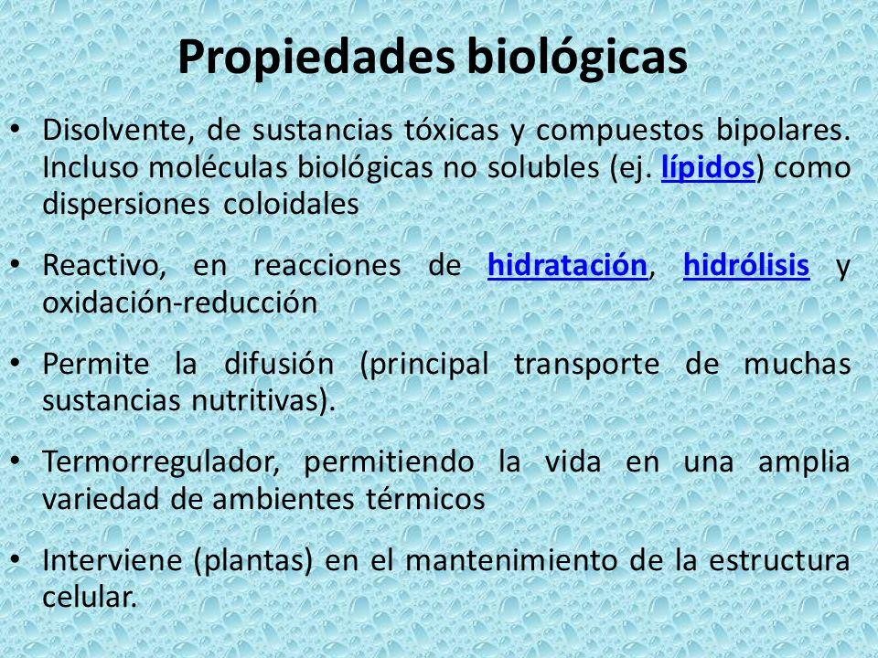 Propiedades biológicas