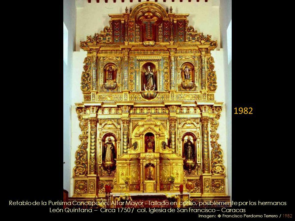León Quintana – Circa 1750 / col. Iglesia de San Francisco – Caracas