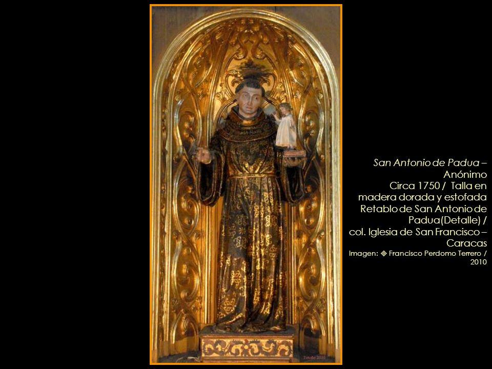 San Antonio de Padua – Anónimo