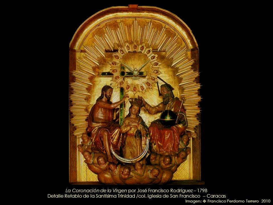La Coronación de la Virgen por José Francisco Rodríguez – 1798