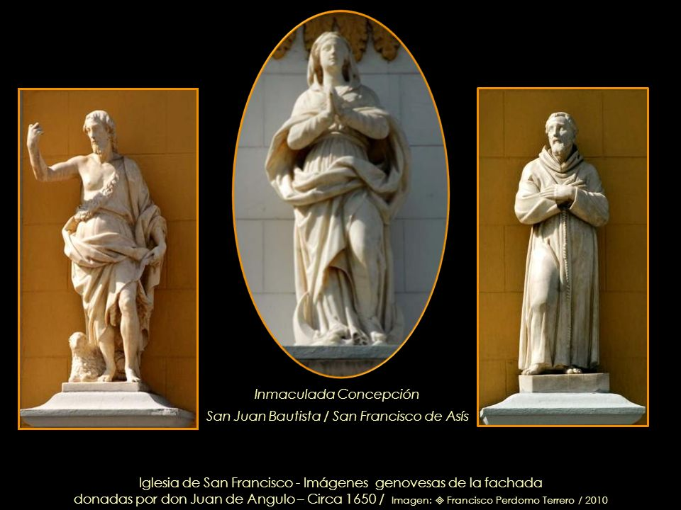 Inmaculada Concepción San Juan Bautista / San Francisco de Asís