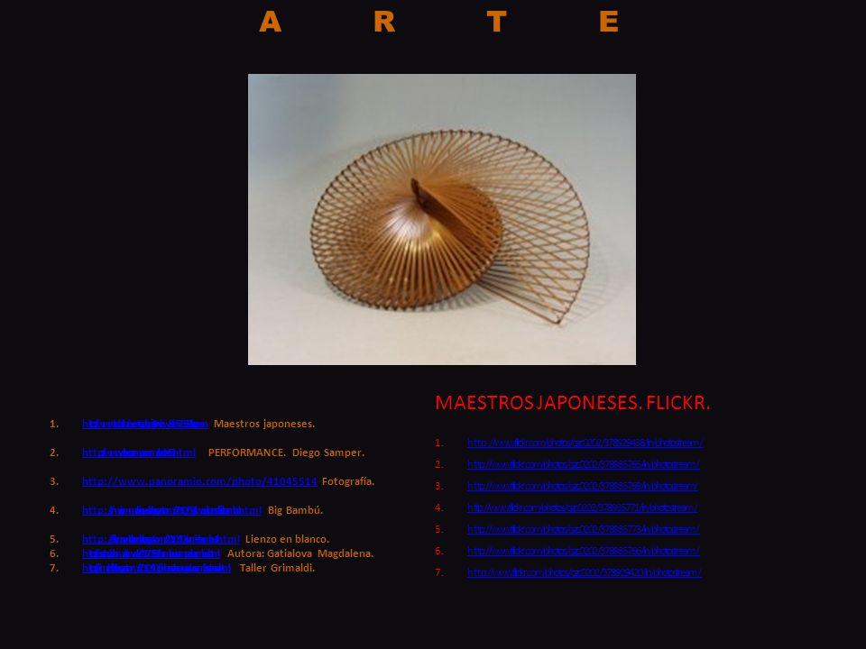 ARTE MAESTROS JAPONESES. FLICKR.