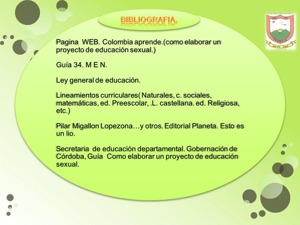 Pagina WEB. Colombia aprende