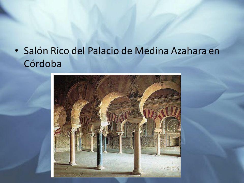 Salón Rico del Palacio de Medina Azahara en Córdoba