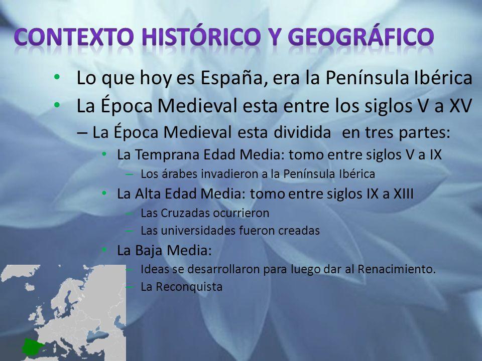 Contexto histórico y geográfico