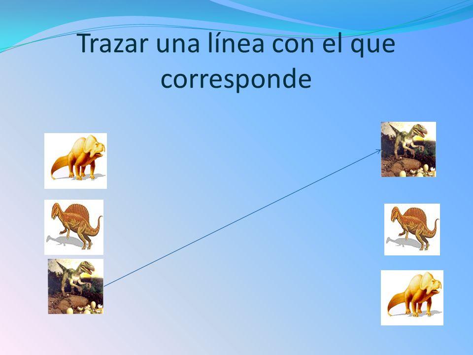 Trazar una línea con el que corresponde