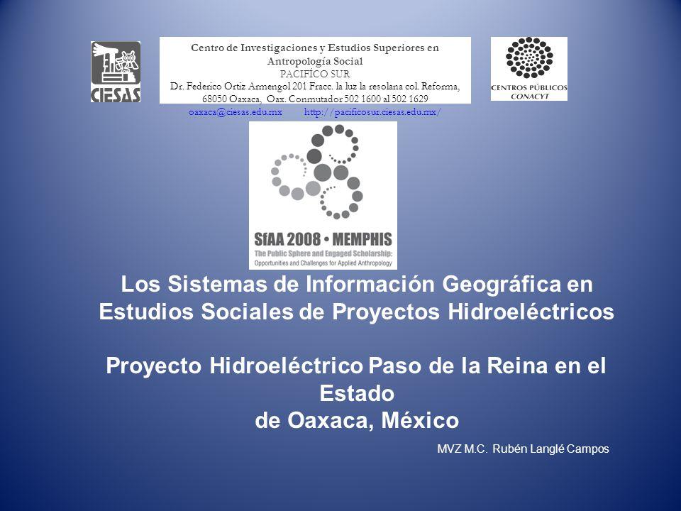 Proyecto Hidroeléctrico Paso de la Reina en el Estado