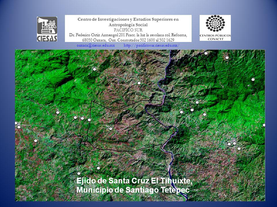 Ejido de Santa Cruz El Tihuixte, Municipio de Santiago Tetepec