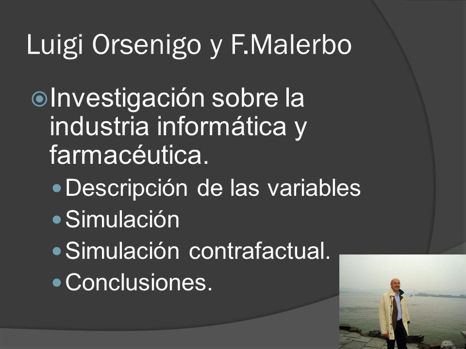 Luigi Orsenigo y F.Malerbo