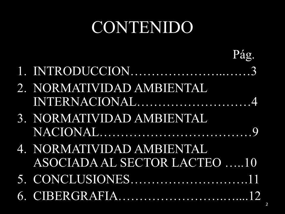 CONTENIDO Pág. INTRODUCCION…………………..……3