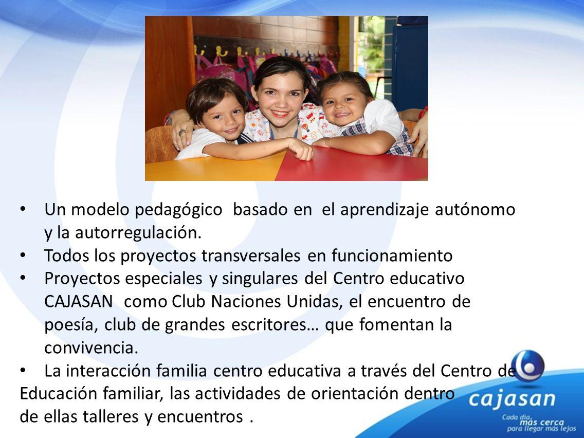 Un modelo pedagógico basado en el aprendizaje autónomo y la autorregulación.