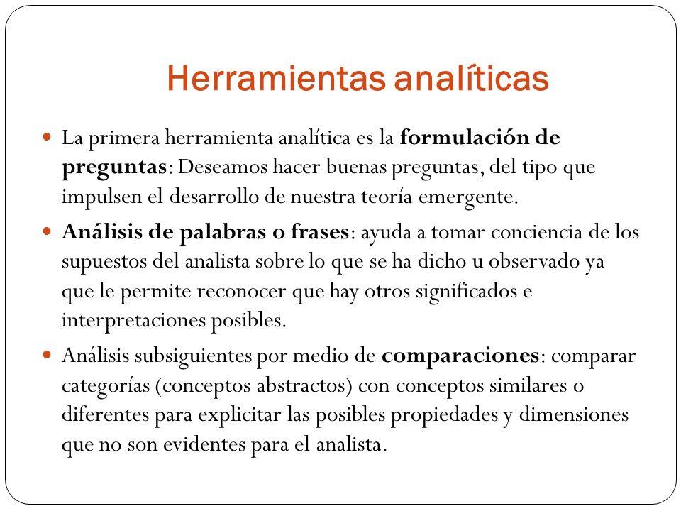 Herramientas analíticas