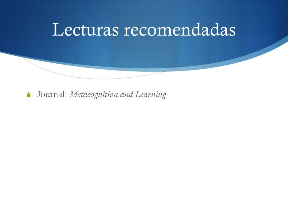 Lecturas recomendadas