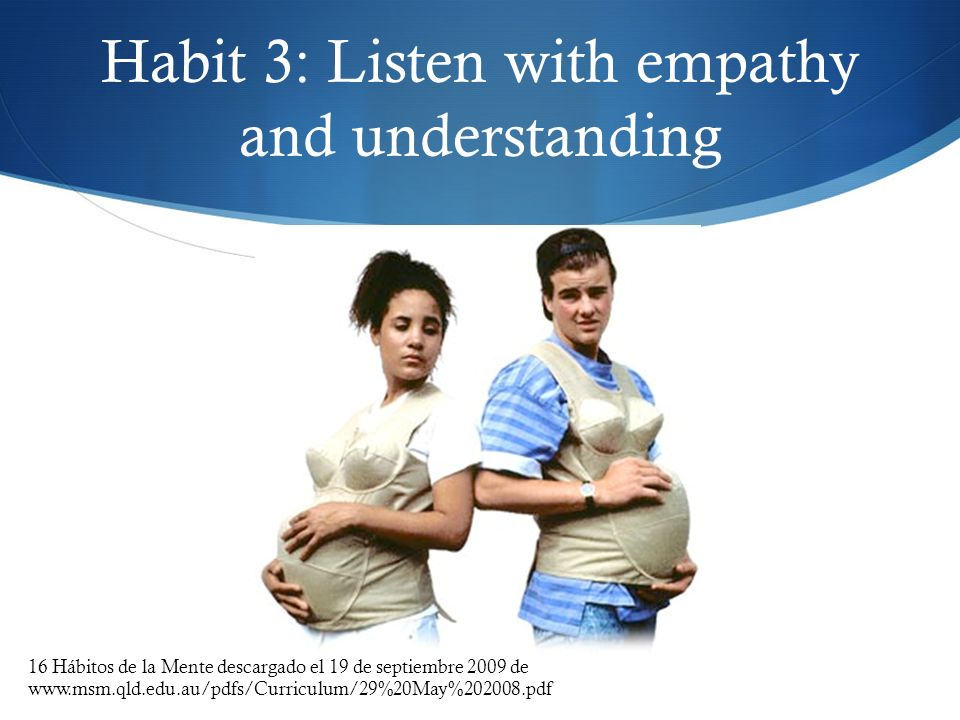 Habit 3: Listen with empathy and understanding