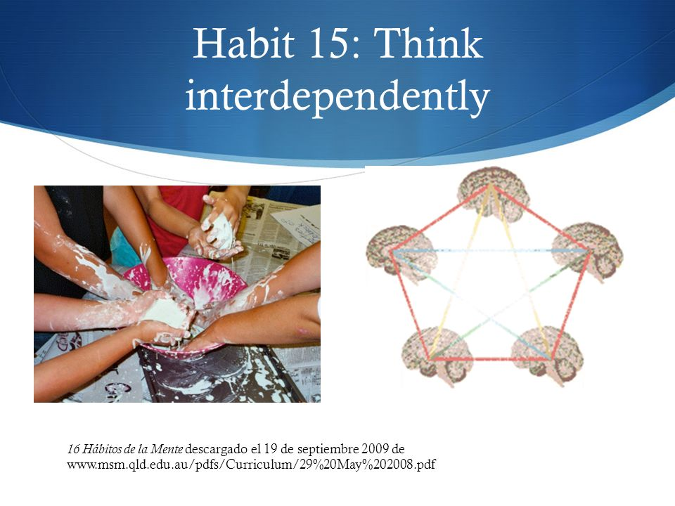 Habit 15: Think interdependently