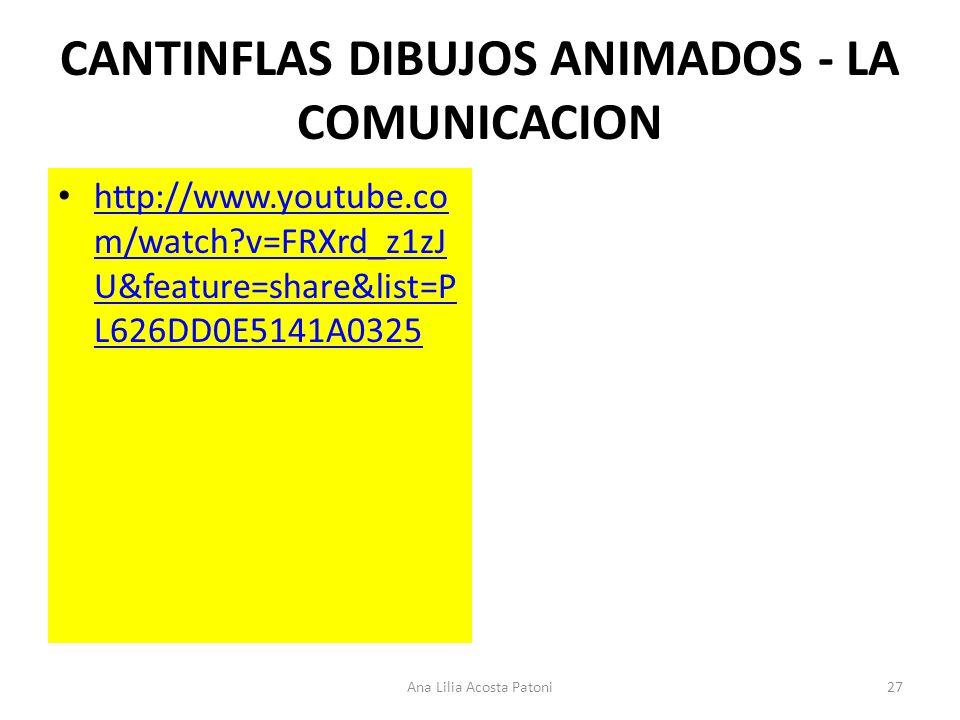 CANTINFLAS DIBUJOS ANIMADOS - LA COMUNICACION