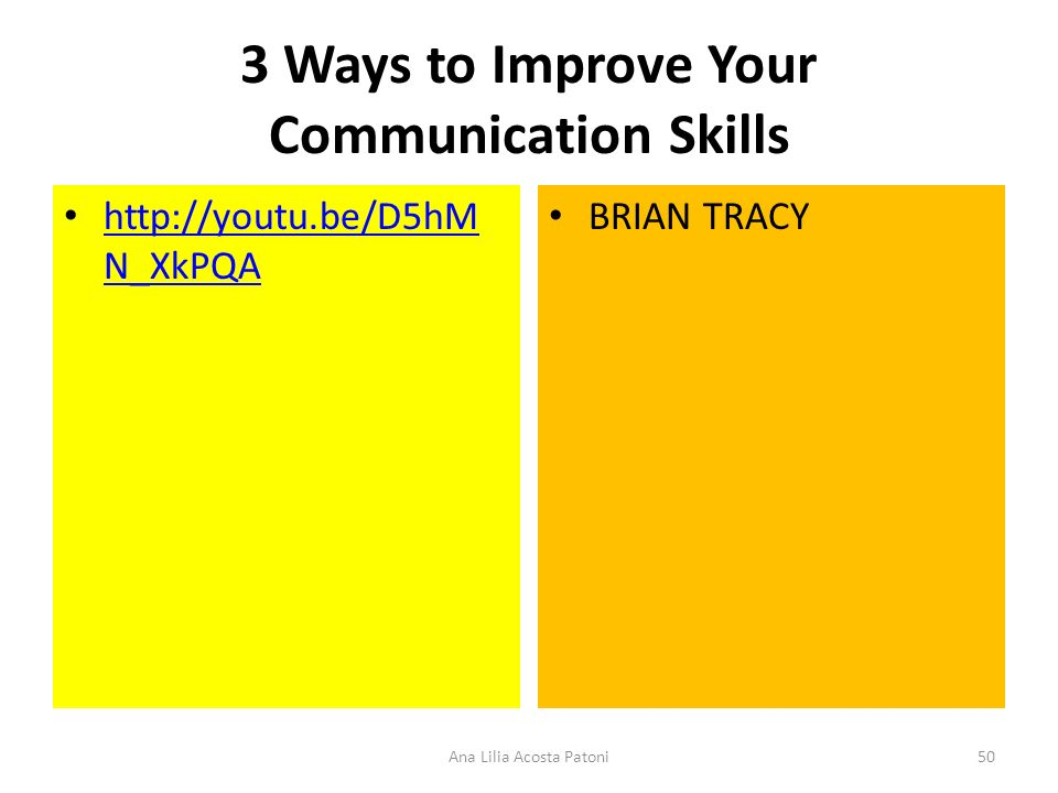 3 Ways to Improve Your Communication Skills