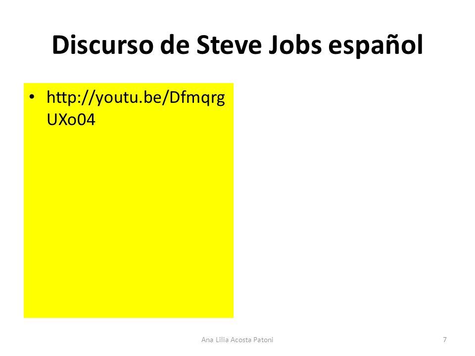 Discurso de Steve Jobs español