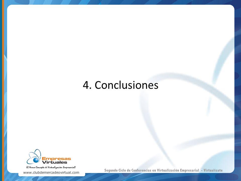 4. Conclusiones