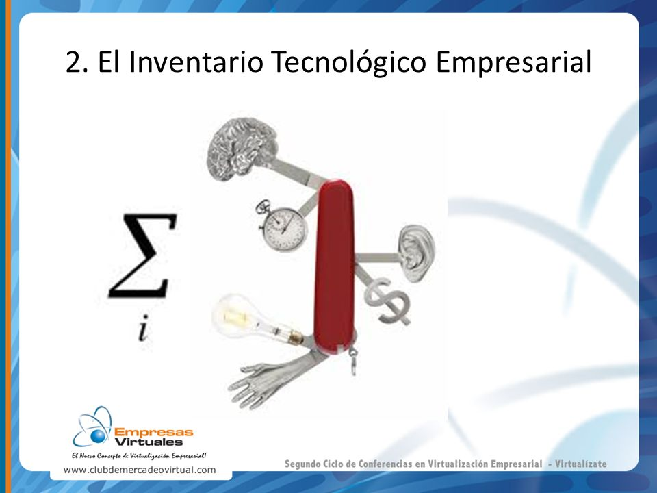2. El Inventario Tecnológico Empresarial