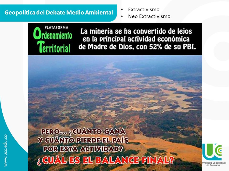 Geopolítica del Debate Medio Ambiental